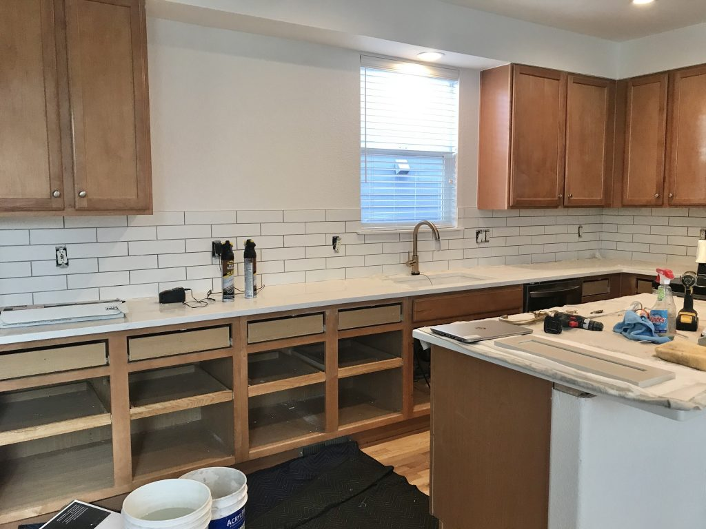 Image of: Why I Picked Matte White Subway Tile Backsplash For My Kitchen Misty Kingma